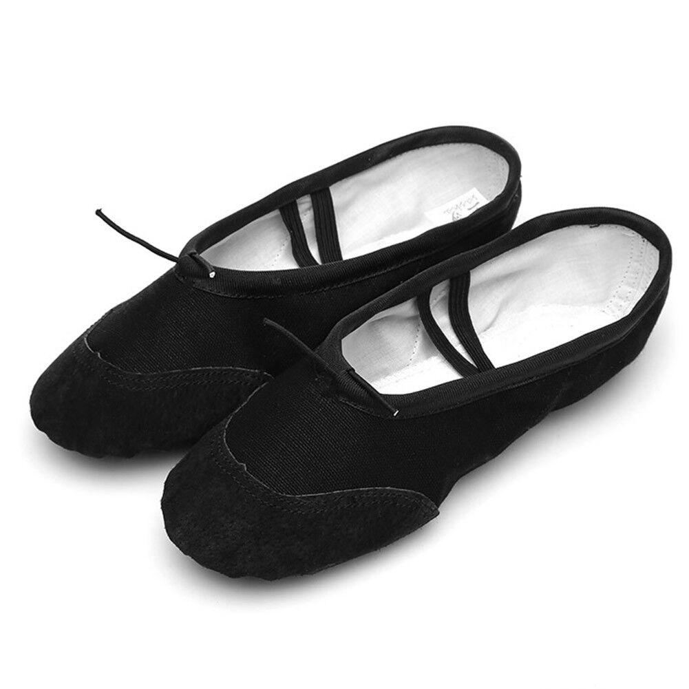 Kids Girls Ballet Shoes Pink Ballet Dance Shoes Womens Slip On Ballet Slippers