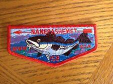 NISQUALLY LODGE 155 W-1B  50th Anniversary WWW OA Boy Scout Patch BSA MINT NEW