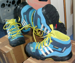 Details zu Adidas Wanderstiefel Trekking Sportschuhe Terrex Mid Gore Tex, Gr. 27
