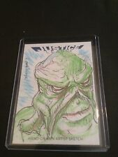 JUSTICE LEAGUE CRYPTOZOIC SWAMP THING SKETCH BY JOHN OTTINGER
