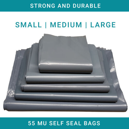 Bolsas de correo de color pequeño mediano grande extra fuerte sello post paquete de embalaje