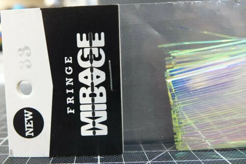 10cm Fringe MIRAGE #33 Fringe MIRAGE #33 Hedron USA Mirage Fringe Länge ca