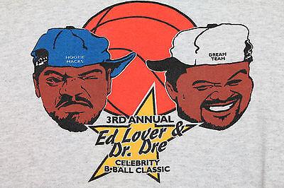L * NOS vtg 90s 1995 ED LOVER & DR DRE crewneck sweat shirt *yo mtv raps hip hop