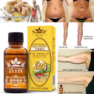Details about 100% PURE Plant Therapy Lymphatic Drainage Ginger Oil Essential Oils
