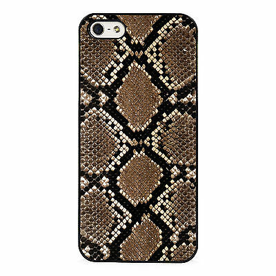 uk availability b63a4 2d27c Brown Snakeskin phone case fits iPhone | eBay