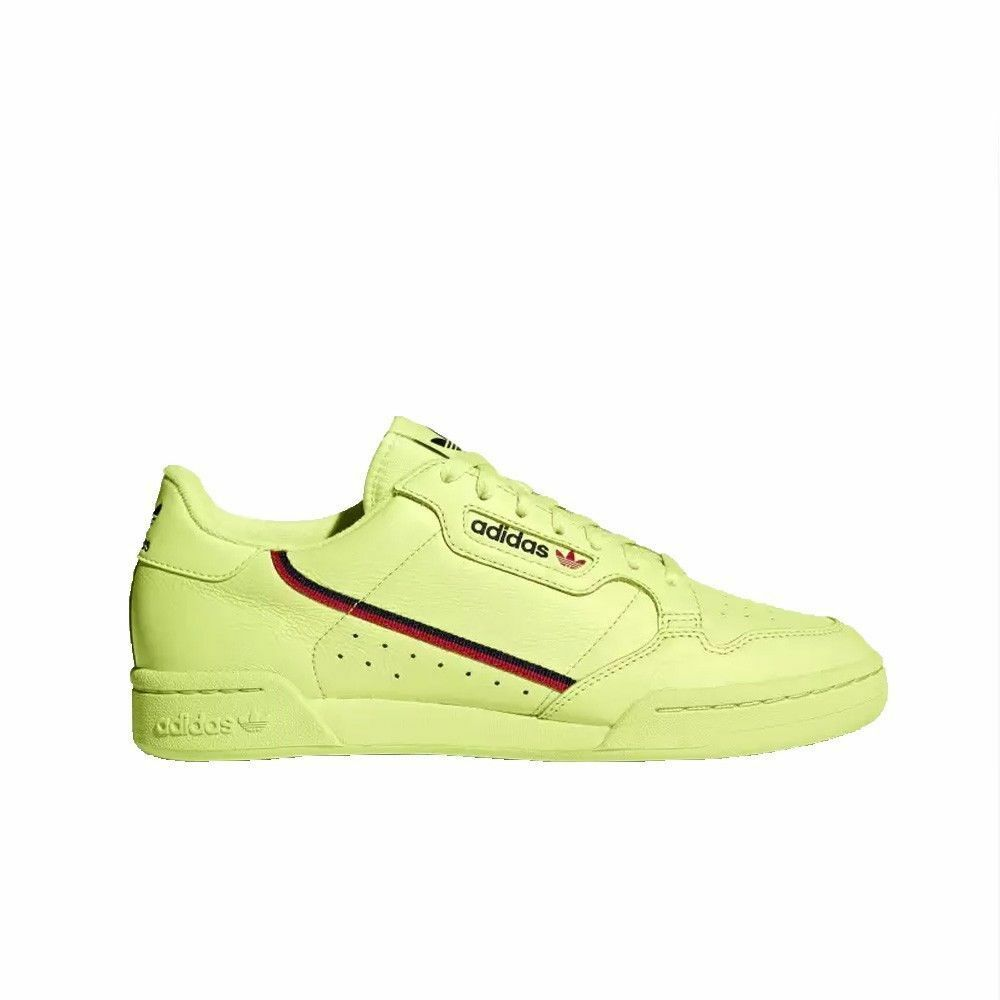 Adidas Continental 80 (Semi Frozen Yellow Scarlet Navy) Men's shoes B41675 US 13