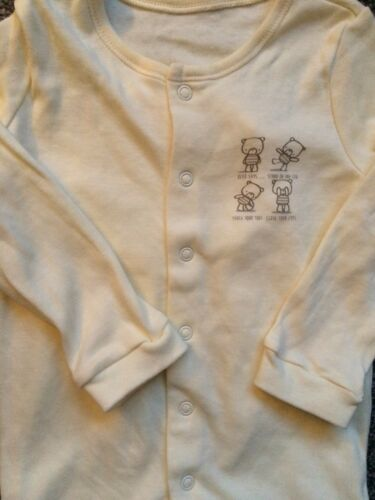 BABY GIRL BOY SLEEPSUIT LONG SLEEVED COTTON BABYGROW PLAYSUIT N//B 18//24 MONTHS