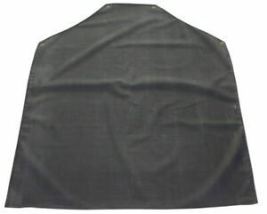 BClick RAB42 Apron Black Rubber Chemical Protection 42 X 36