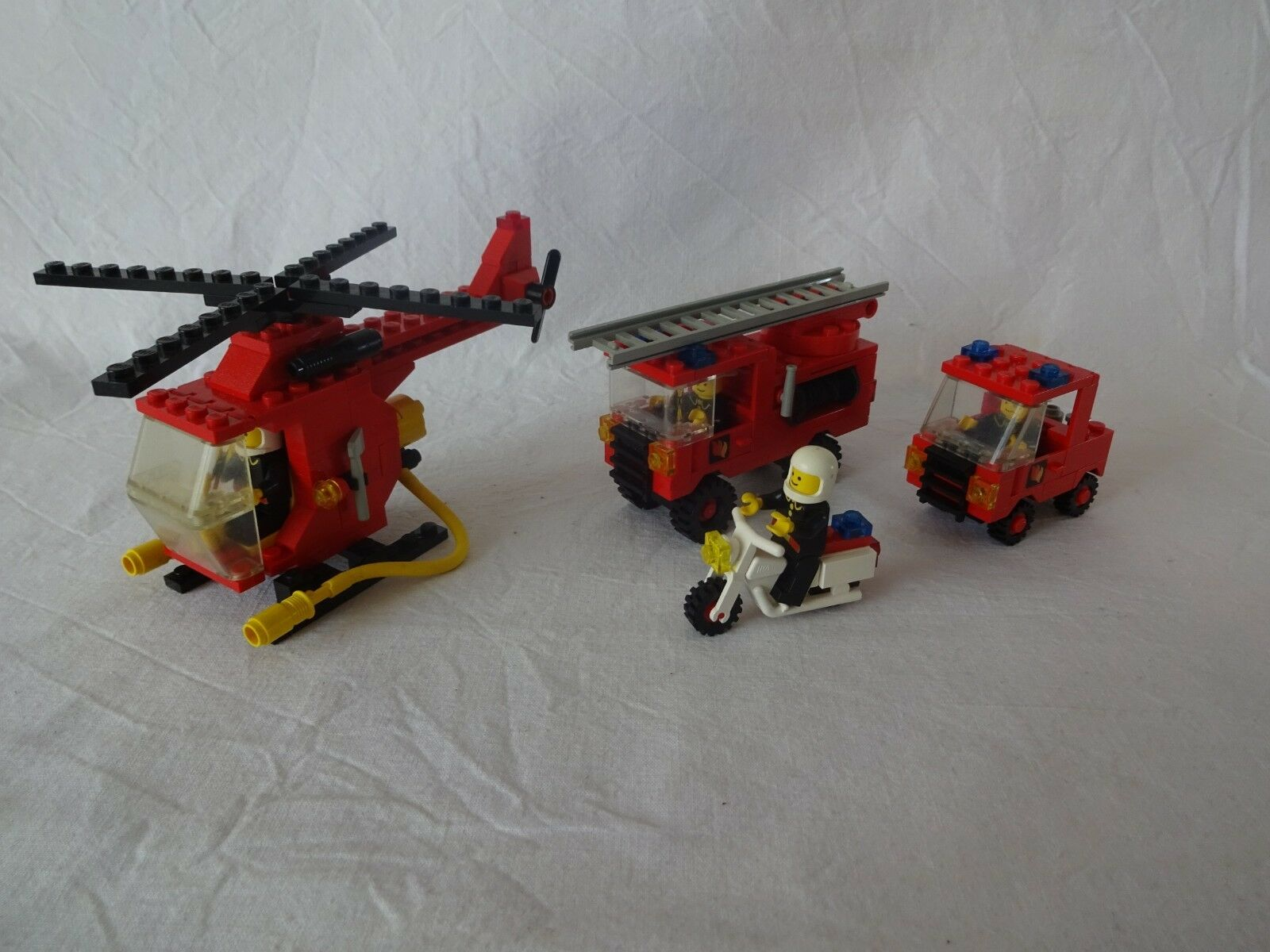 LEGO® City 6366 Squad, Fire & Rescue Squad, 6366 6685 Fire Copter 1 b27045