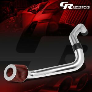 For Honda Civic EX Lightweight Hi-Flow Cold Air Intake System+Cone Filter Red