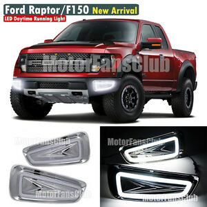 neu led tagfahrlicht f r ford raptor f150 drl tfl 2009. Black Bedroom Furniture Sets. Home Design Ideas
