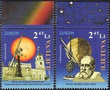 Lithuania 2009 Europa/Astronomy/Space/Galileo/Telescopes/Buildings 2v set n32054