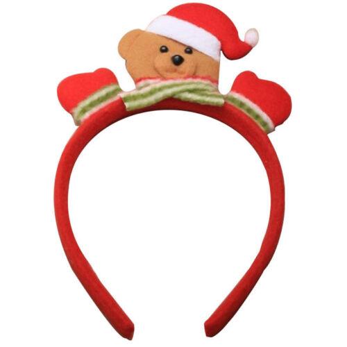 Fiesta de Navidad árbol de Navidad Elfo Renos Bopper Santa Sombrero Diadema fiesta de Navidad