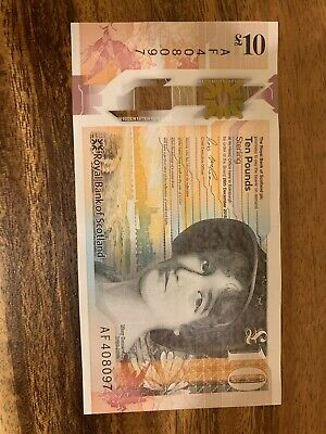 Europe Circulated Scotland 10 Pounds Banknote Scottish Banknotes 10 Pound