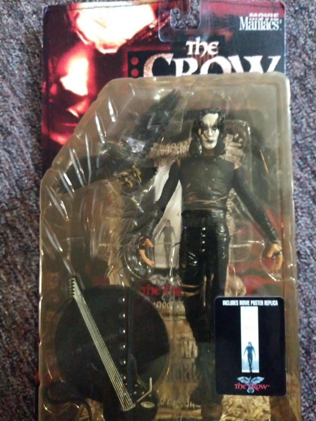 The Crow 1999 Eric Draven Movie Maniacs Figure by McFarlane Toys New