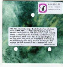 (FG665) The Acid, Basic Instinct - 2014 DJ CD