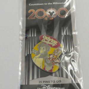 Disney-DS-Countdown-to-the-Millennium-Series-26-Oliver-and-Company-Oliver-Pin