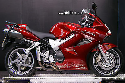 07/07 HONDA VFR 800 ABS A-6 SPORTS TOURING CANDY APPLE 7,500 MILES