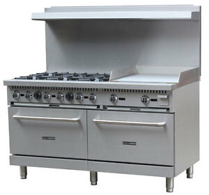 Image Is Loading Black Diamond Gas Range Griddle Combo 60 Wide