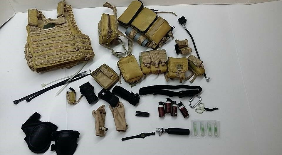 1 6 Scale Soldier Story US Navy Navy Navy EODMU-11 CIRAS MAR VEST set for 12  figure use 7da988