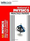 National 5 Physics Practice Exam Papers (Practice Papers for SQA Exams) by Michael Murray, Leckie & Leckie (Paperback, 2014)