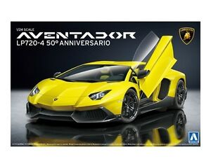 From Japan 1 24 Super Car 17 Lamborghini Aventador Lp720 4 50