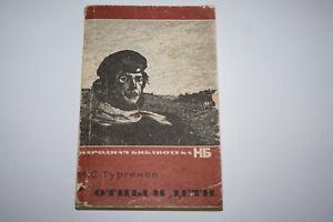 Buch-Vaeter-und-Soehne-von-Turgenjew-in-Russische-Sprache-Original-Fotos-743