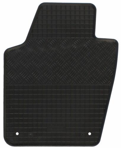 Tappetini IN GOMMA PER VW VOLKSWAGEN POLO 5 6c 2014-posteriore acciaio per Hatchback 5-porte