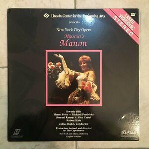 Manon-Massenet-039-s-2-X-LaserDisc-1989-USA-import-Paramount