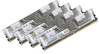4x 2GB 8GB RAM IBM xSeries BladeCenter HS21 667Mhz FBDIMM DDR2 FullyBuffered