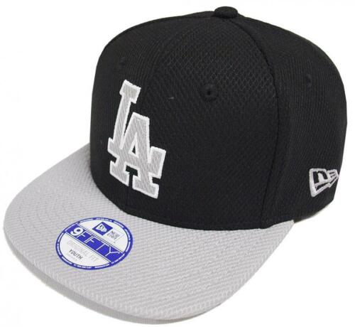 New Era Los Angeles Dodgers JR Diamond Two Tone 9 Fifty Youth Snapback Cap Enfants
