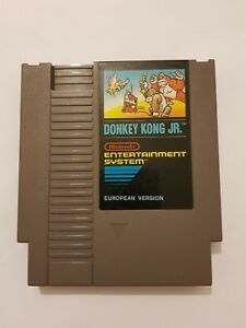 Donkey-Kong-Jr-Nintendo-NES-version-europea-solo-cartucho-pal-FRG