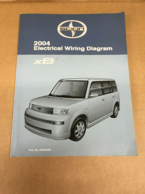 2004 Scion Xb Sedan Shop Service Electrical Wiring Diagram