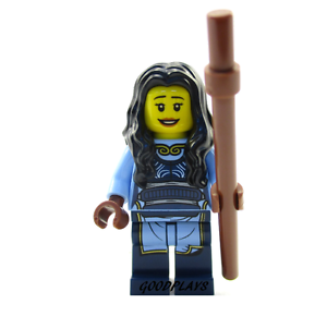 Lego Ninjago Maya minifigure with brown stick weapon new  70627 Hands of Time