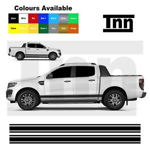 Side Stripe Sticker For Ford Ranger Raptor Decal Stickers Decals 4x4 Off Road Ebay