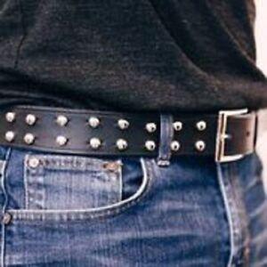 Unisex-Leather-Belt-Studded-Leather-belt-Boho-Belt-Punk-Rocker-Biker-Belt