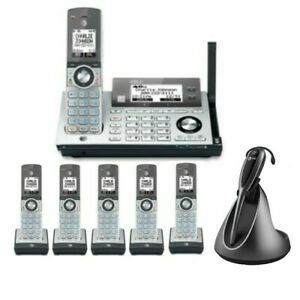 AT/&T Connect to Cell Bluetooth DECT6.0 Cordless Home Phone Answering Machine Lot