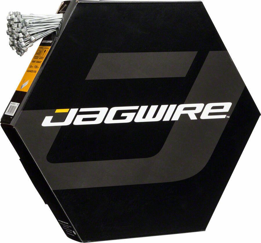 Jagwire Cable de  Freno Basics 1.6x2000 Galvanizado Sram   Shimano MTB,Box Of 100  barato y de alta calidad