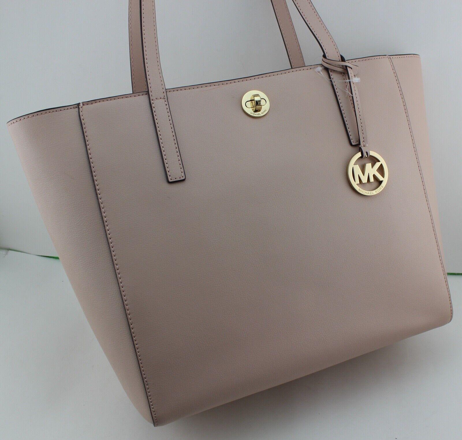 db9a2023ba2a Michael Kors Rivington Large Leather Tote Bag Ballet Pink for sale ...