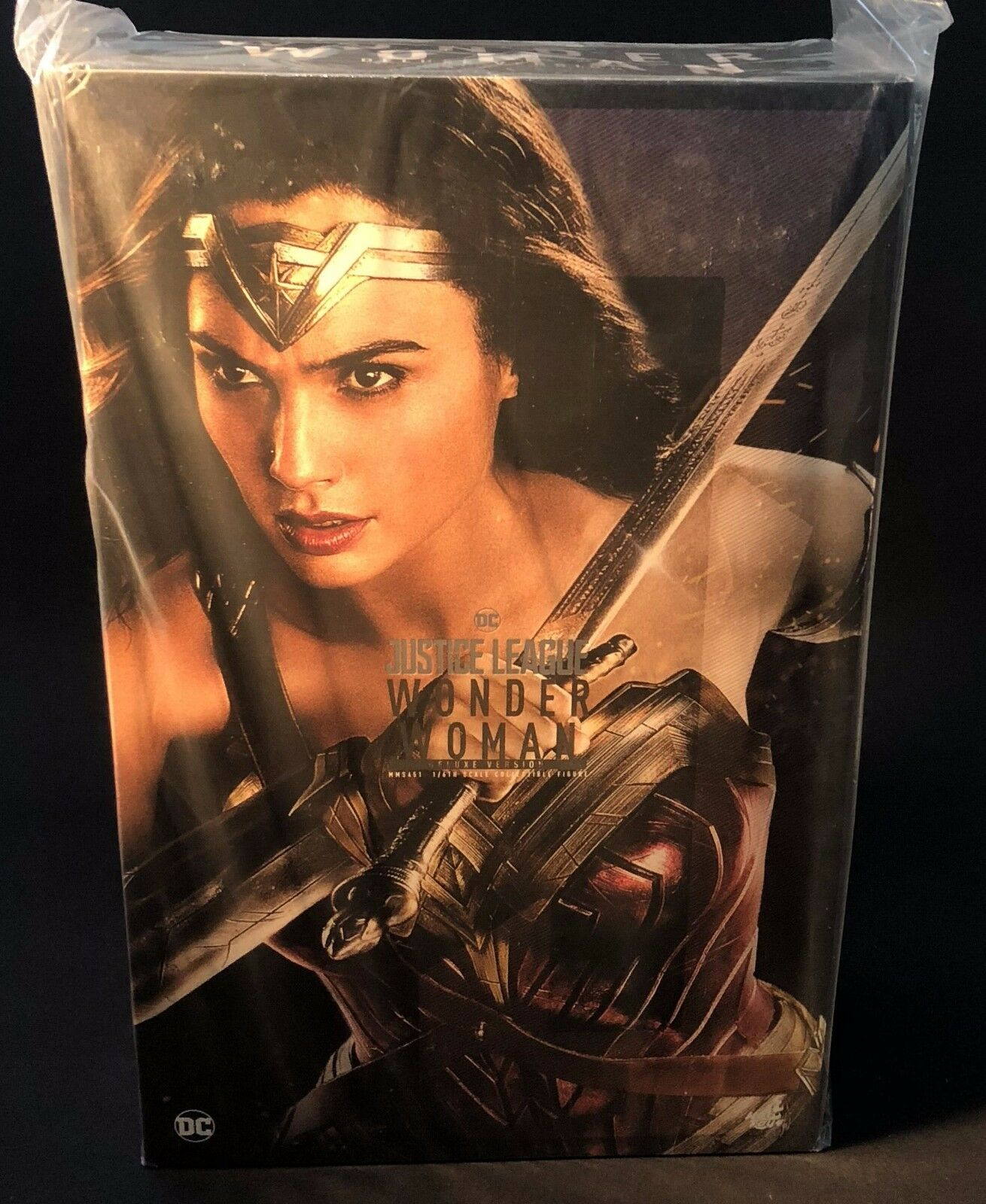 HOT TOYS MMS451 Justice League Wonder Woman 3.0 Gal Gadot 1/6 Figure Deluxe Ver.