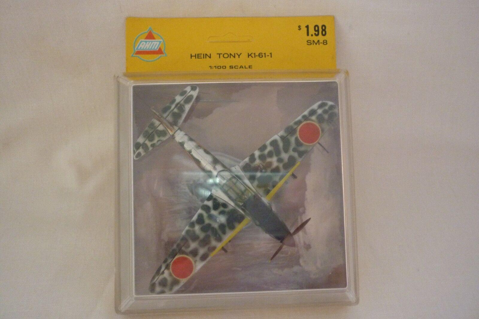 Ahm Modelo Avión - Escaparate Miniaturas Hein Tonky Tonky Tonky K1 61 1 1 100 Emb.orig cbb2b2