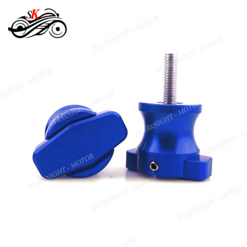Motor Parts Swingarm Spool Screws Slider For Kawasaki Z750//R 2004-2012 07 08 09