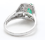 1-70Ct-Natural-Emerald-amp-Diamond-14K-Solid-White-Gold-Ring thumbnail 4