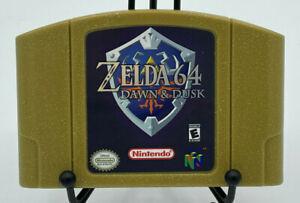 Zelda 64 Dawn and Dusk | Nintendo 64 rare Gold Cart | USA Seller