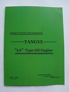 Instruction-for-Working-Tangye-039-AA-039-Type-Oil-Engine