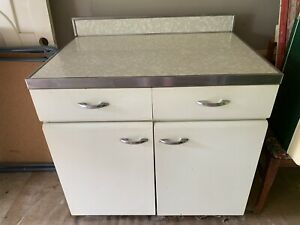vintage metal kitchen cabinet | eBay