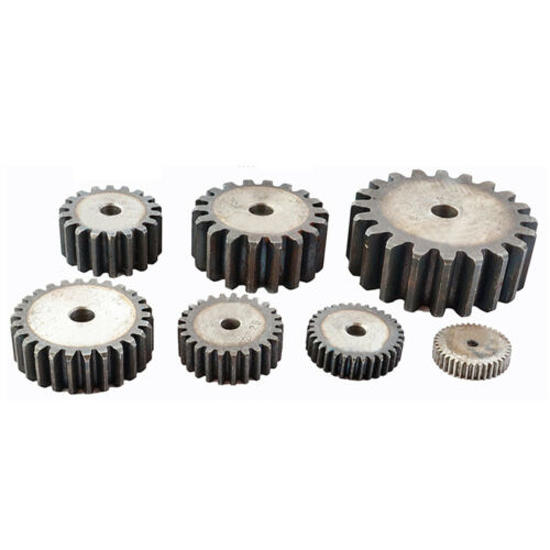 1.5Mod 46T 45# Steel Motor Spur Pinion Gear Outer Dia 73mm Thickness 15mm Qty 1
