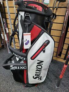 Srixon SRX Golf Stand Bag - Black / White / Red