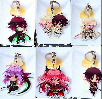 Anime Seraph of the End Owari no Seraph Yuichiro Hyakuy Keychain Keyring Gift