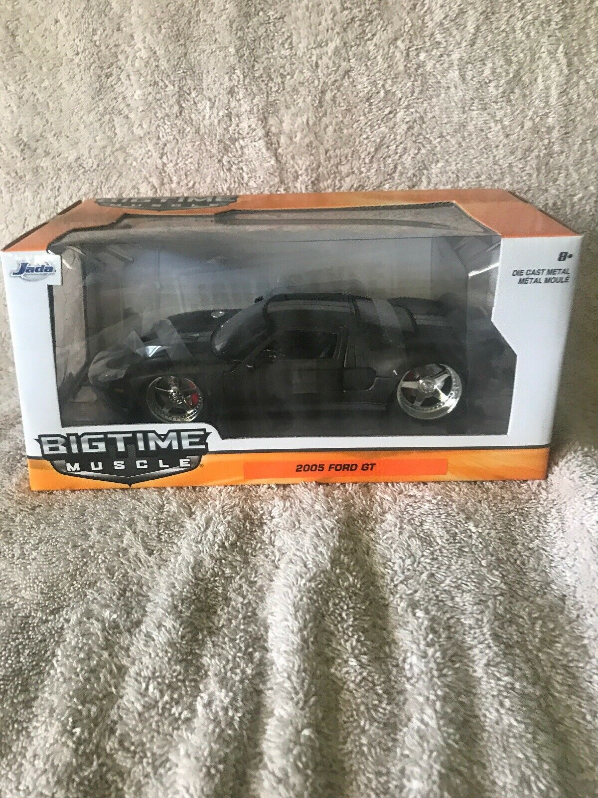 Jada Big Time Muscle 2005 Ford GT Matt Grey New In Sealed Box 1 24 RARE